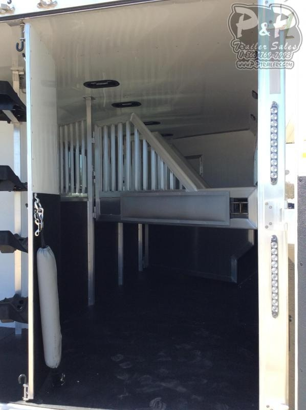 2019 SMC Horse Trailers SL8413SSR 4 Horse Slant Load Trailer 13 FT LQ With Slides