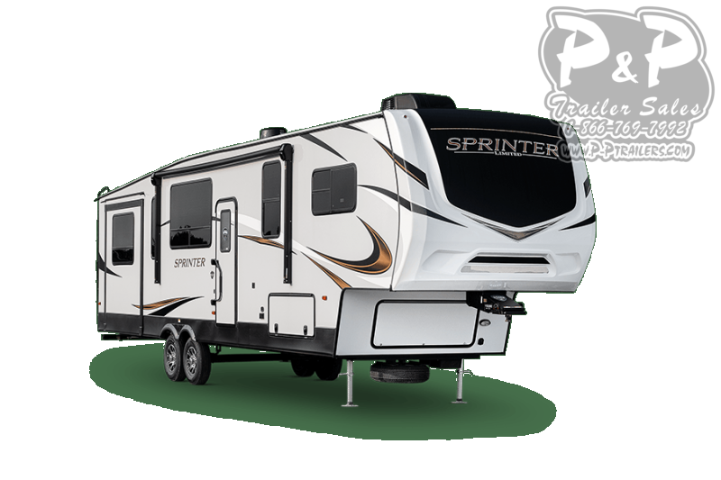 2021 Keystone RV Sprinter Limited 3530DEN 468 Fifth Wheel Campers RV