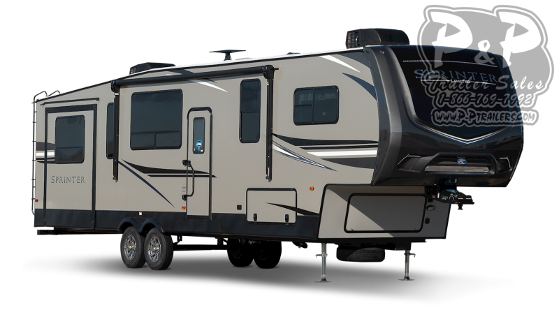 "2021 Keystone RV Sprinter Limited 3530DEN 468 "" Fifth Wheel Campers RV"