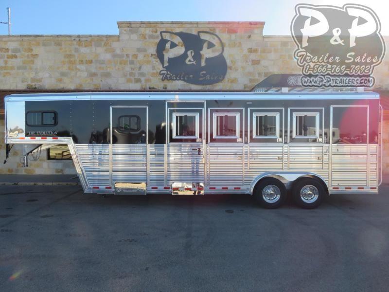 2021 Bloomer 4 Horse Trainer 4 Horse Slant Load Trailer