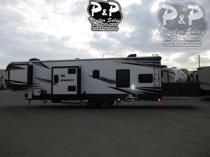 2020 Keystone Impact 367 39 ft Toy Hauler RV
