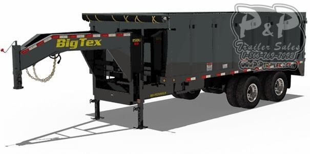 2021 Big Tex Trailers 25DU-18 Dump Trailer