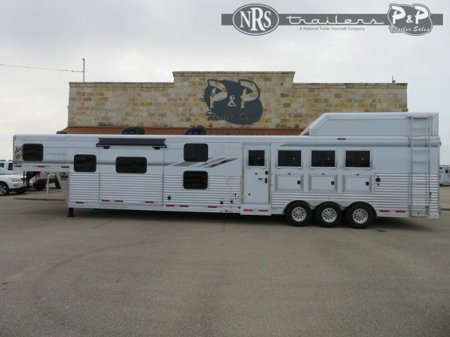 2021 SMC Horse Trailers SL8418SBBSRBRSL 4 Horse Slant Load Trailer 18 FT LQ With Slides