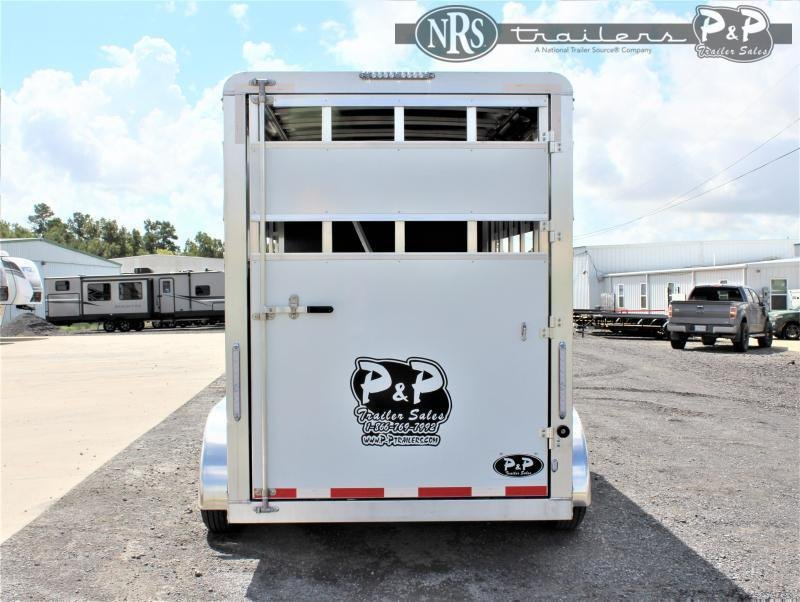 2021 P and P 60170STK 3SL BP 3 Horse Slant Load Trailer