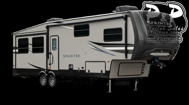 2021 Keystone RV Sprinter Campfire 29FWRL 34 ' Fifth Wheel Campers RV