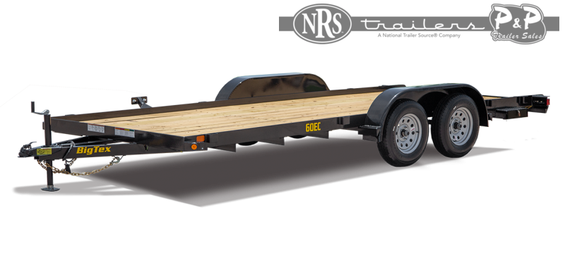 2021 Big Tex Trailers 60EC-16BK 16 ' Equipment Trailer