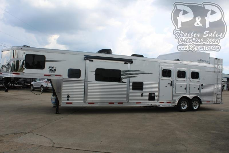 2021 Lakota Charger C8315SRRSL 3 Horse Slant Load Trailer 15 FT LQ With Slides w/ Ramps