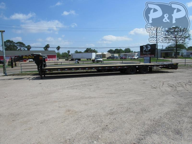 2020 Big Tex Trailers 25GN-35BK+5MR 40 ft Flatbed Trailer