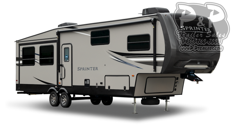 2021 Keystone RV Sprinter Campfire 27FWML Fifth Wheel Campers RV
