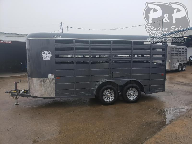2020 CM CMS6630-1600235 16 ft Livestock Trailer