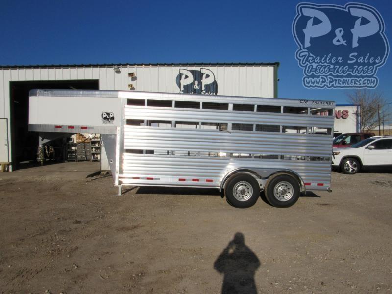 2021 CM CMS 2040-1600260 16 ' Livestock Trailer