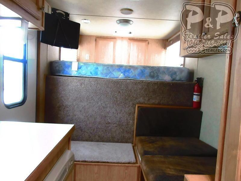 2007 Sundowner Trailers Horizon 6908 4 Horse Slant Load Trailer 6 FT LQ