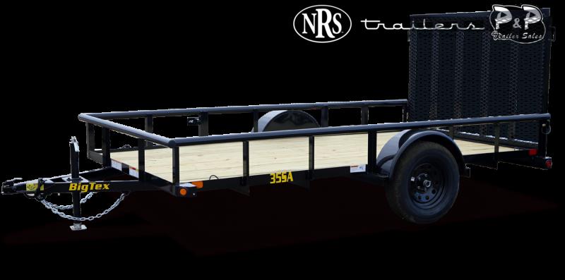 2021 Big Tex Trailers 35SA-10XBK4RG 10 ' Utility Trailer