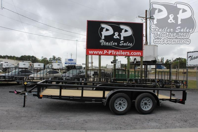 "2021 P and P PPTA16X83GDSRPT 83"" x 16 ' Utility Trailer"