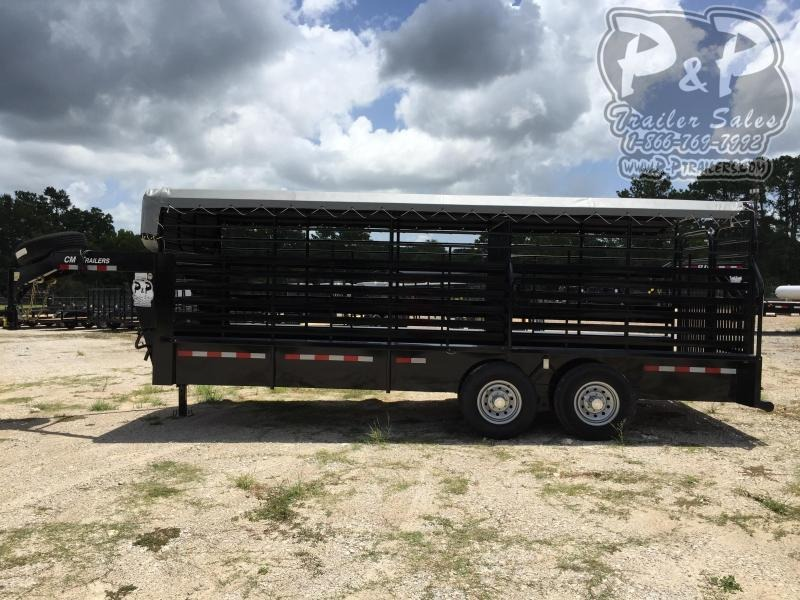 "2020 CM Trailers Brush Buster BT 20 ft. 6' 8"" W x 6' 6"" T"
