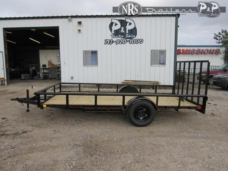 2021 P and P PPSA14X77LDRGPT 14 ' Utility Trailer