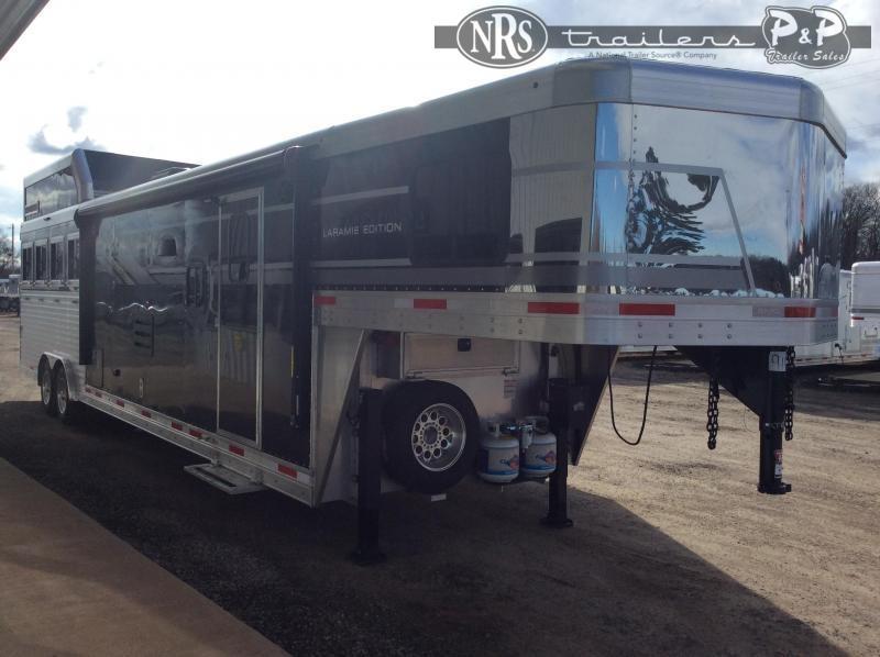 2021 SMC Horse Trailers SL8414SSR 4 Horse Slant Load Trailer LQ