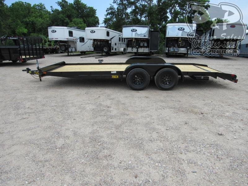 2021 Big Tex Trailers 70CH-20BKDT Car / Racing Trailer