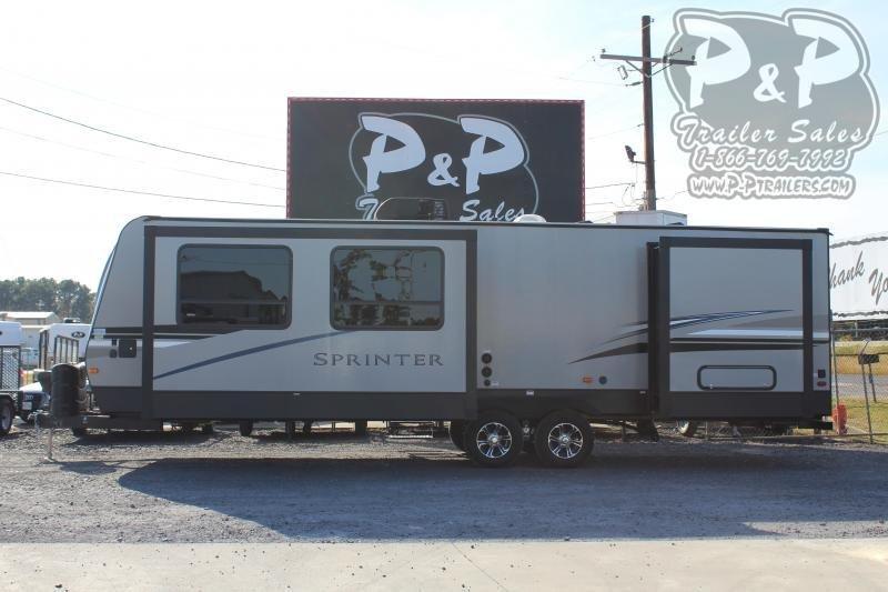 2021 Keystone RV Sprinter Campfire 29FK Travel Trailer RV