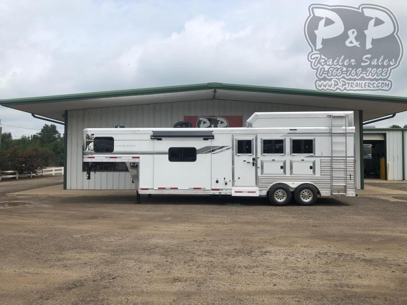 2021 SMC Horse Trailers SL8311SFK 3 Horse Slant Load Trailer 11 FT LQ With Slides