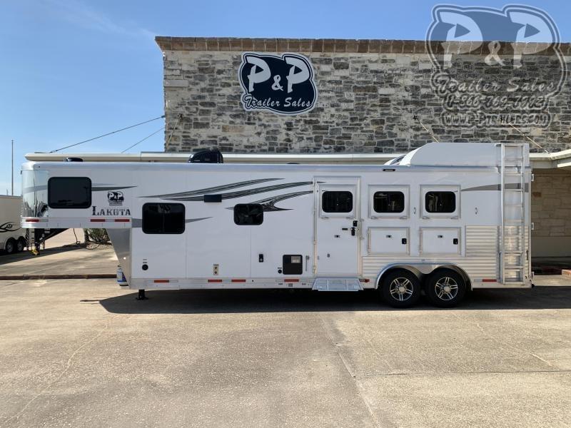 2021 Lakota C8311 3 Horse Slant Load Trailer 11 FT LQ