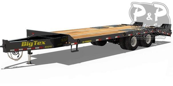 2021 Big Tex Trailers 4XPH-24+5 Equipment Trailer