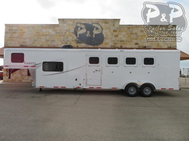 2020 Lakota Colt AC49 4 Horse Slant Load Trailer 9 FT LQ