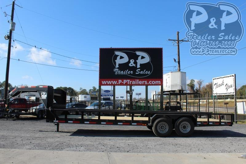 """2021 P and P PPLB24X83HDSRPT 288 """" Flatbed Trailer"""
