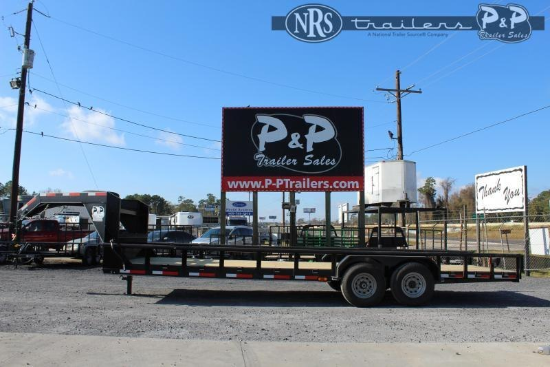 "2021 P and P PPLB24X83HDSRPT 288 "" Flatbed Trailer"