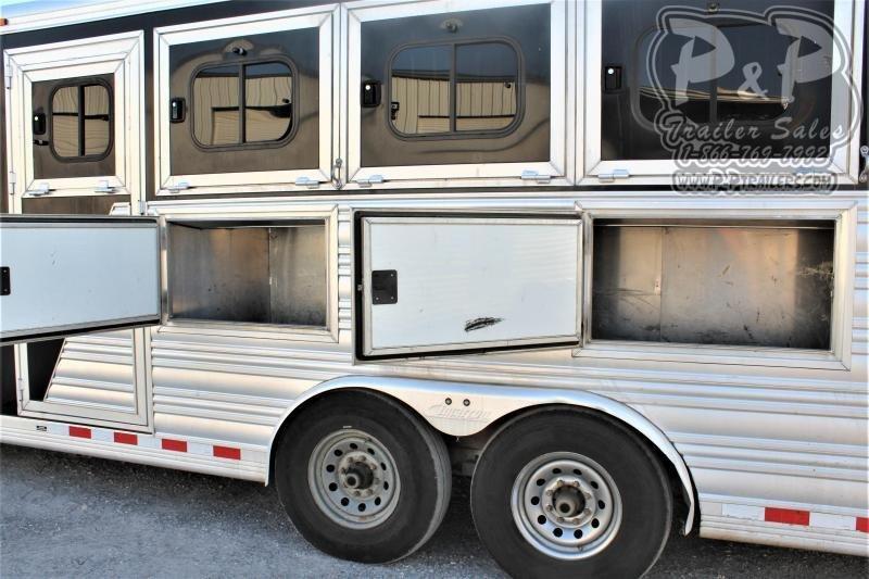 2014 Cimarron Trailers 8410 4 Horse Slant Load Trailer 10 FT LQ