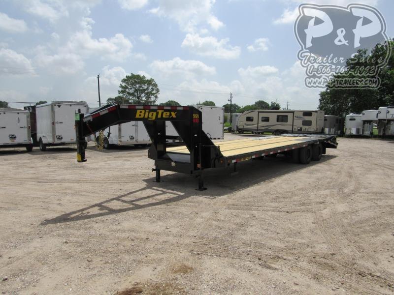 2021 Big Tex Trailers 22GN-25BK5MR Flatbed Trailer