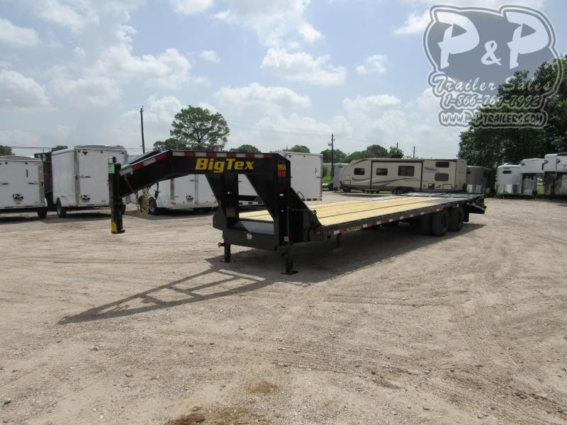 2021 Big Tex Trailers 22GN-25BK5MR Flatbed Trailer