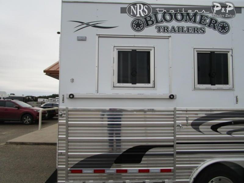 2021 Bloomer 8416PCOL 4 Horse Slant Load Trailer 16 FT LQ w/ Slideouts