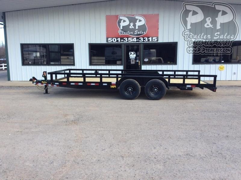 2021 Big Tex Trailers 14PI-20BK 20 ' Utility Trailer