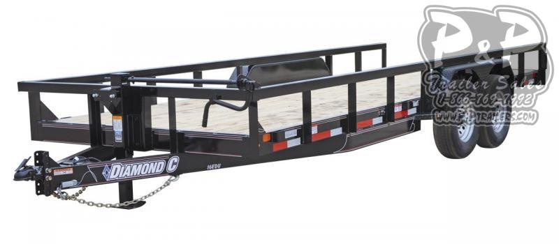 2020 Diamond C Trailers EDU Utility Trailer