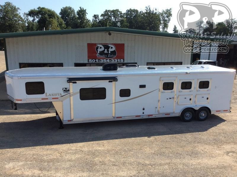 2021 Lakota Colt AC8315 3 Horse Slant Load Trailer 15 FT LQ With Slides