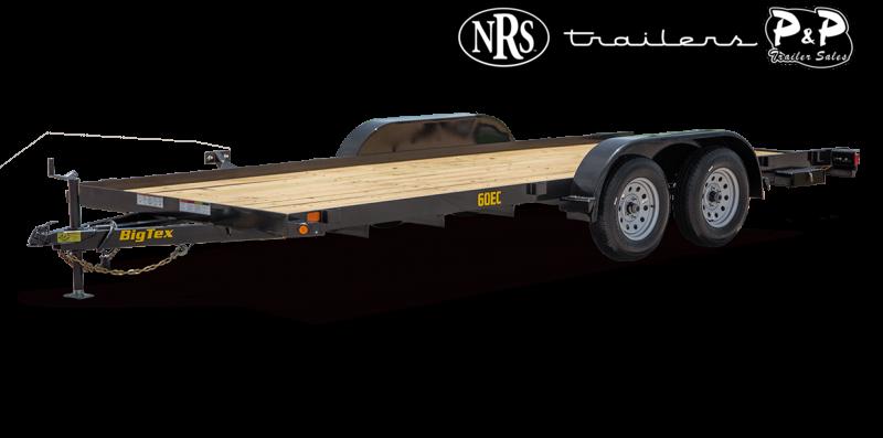 2021 Big Tex Trailers 60EC-14BK 14 ' Equipment Trailer