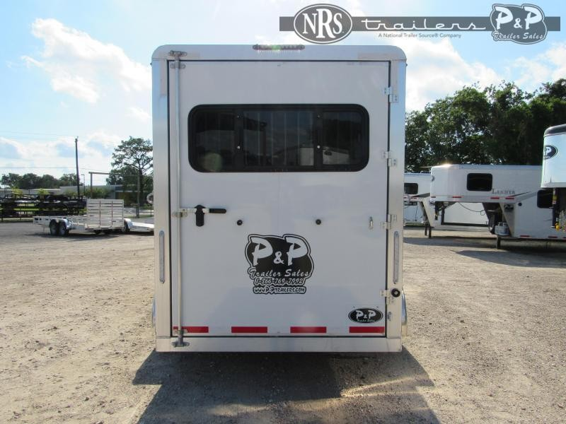 2021 P and P 64170W-3SL-BP 3 Horse Slant Load Trailer