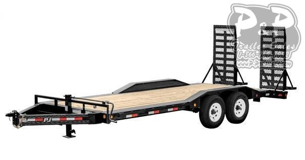 2020 PJ Trailers 8 Pro-Beam Super-Wide Equip (H6) Equipment Trailer