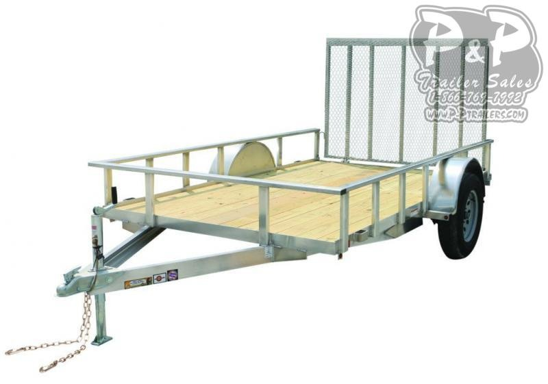 2020 Carry-On 6X10AGW Aluminum 6' x 10 ' Utility Trailer