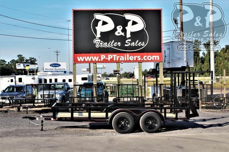 "2020 P and P PPTA14X83LDFURPT 83"" x 14 ' Utility Trailer"