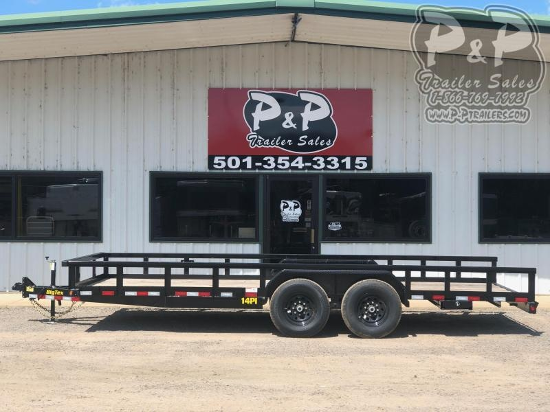 2021 Big Tex Trailers 14PI-20BK Utility Trailer
