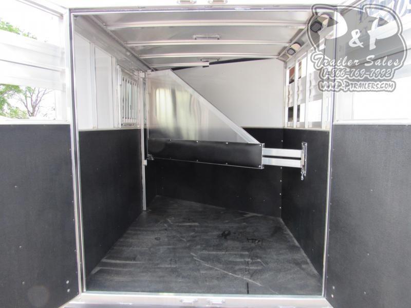 2020 CM CMH5042-13 Renegade 2 Horse Slant Load Trailer
