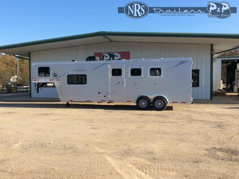 2022 Lakota Colt AC39NS 3 Horse Slant Load Trailer 9 FT LQ