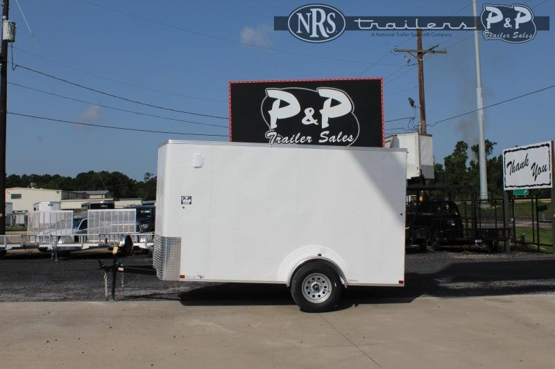 2021 Carry-On Cargo Trailers 6X12CGRBN 12 ' Enclosed Cargo Trailer