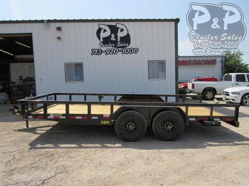2020 Big Tex Trailers 7 'x 18' HD TA 18 ft Utility Trailer