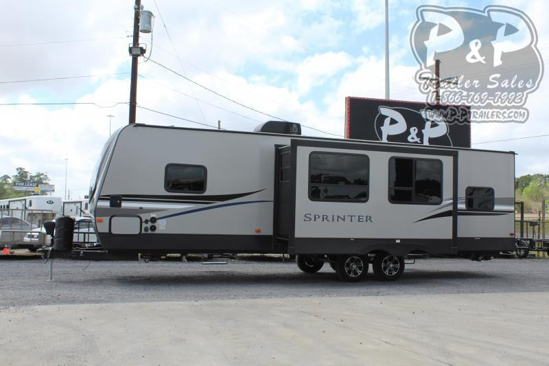 2020 Keystone Sprinter Campfire 29DB 31 ft Travel Trailer RV