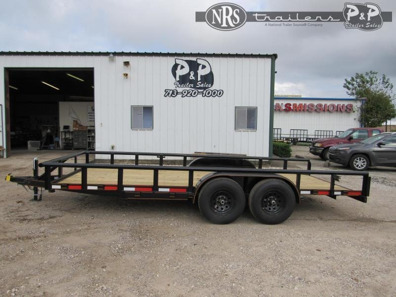 2021 P and P PPTA18X83MDSRPT 18 ' Utility Trailer