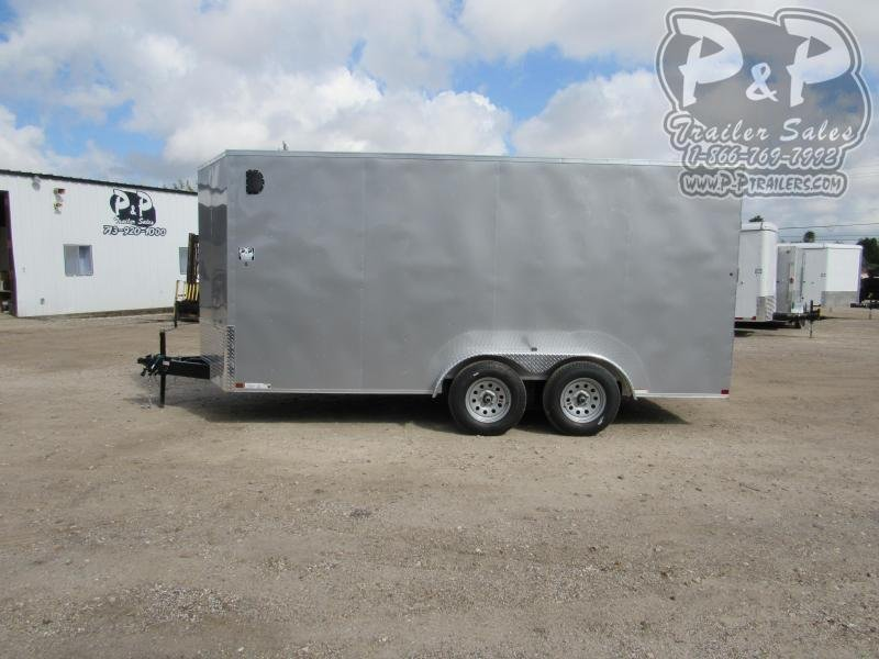 2021 Carry-On 7 X 16 CGRCM 16 ' Enclosed Cargo Trailer