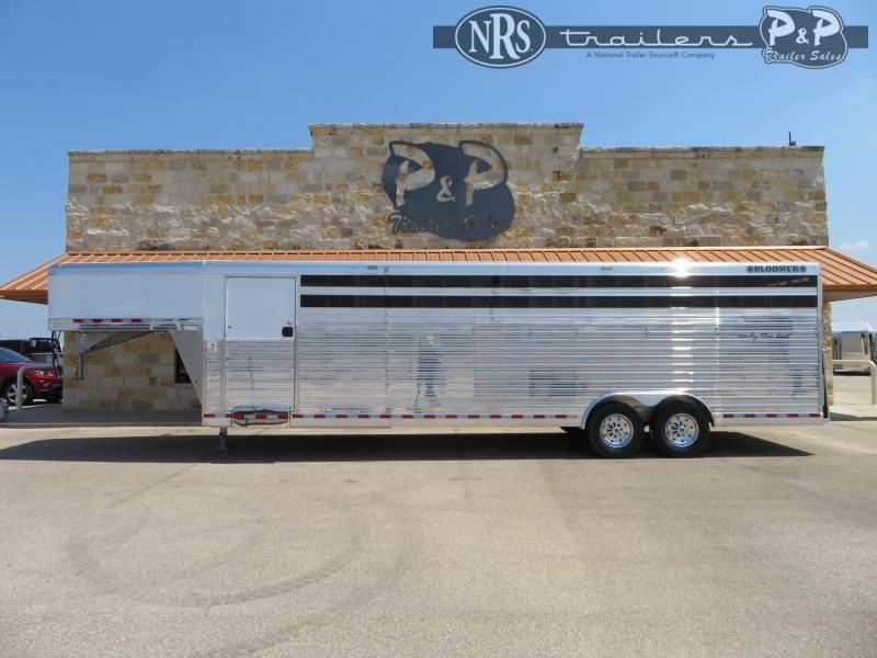 2021 Bloomer Polo 7 Horse Slant Load Trailer